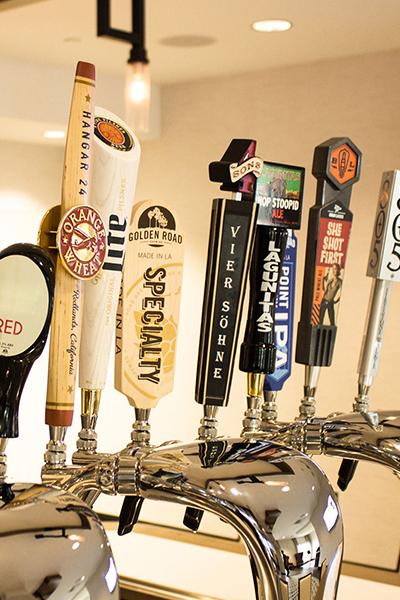 Bar tap handles